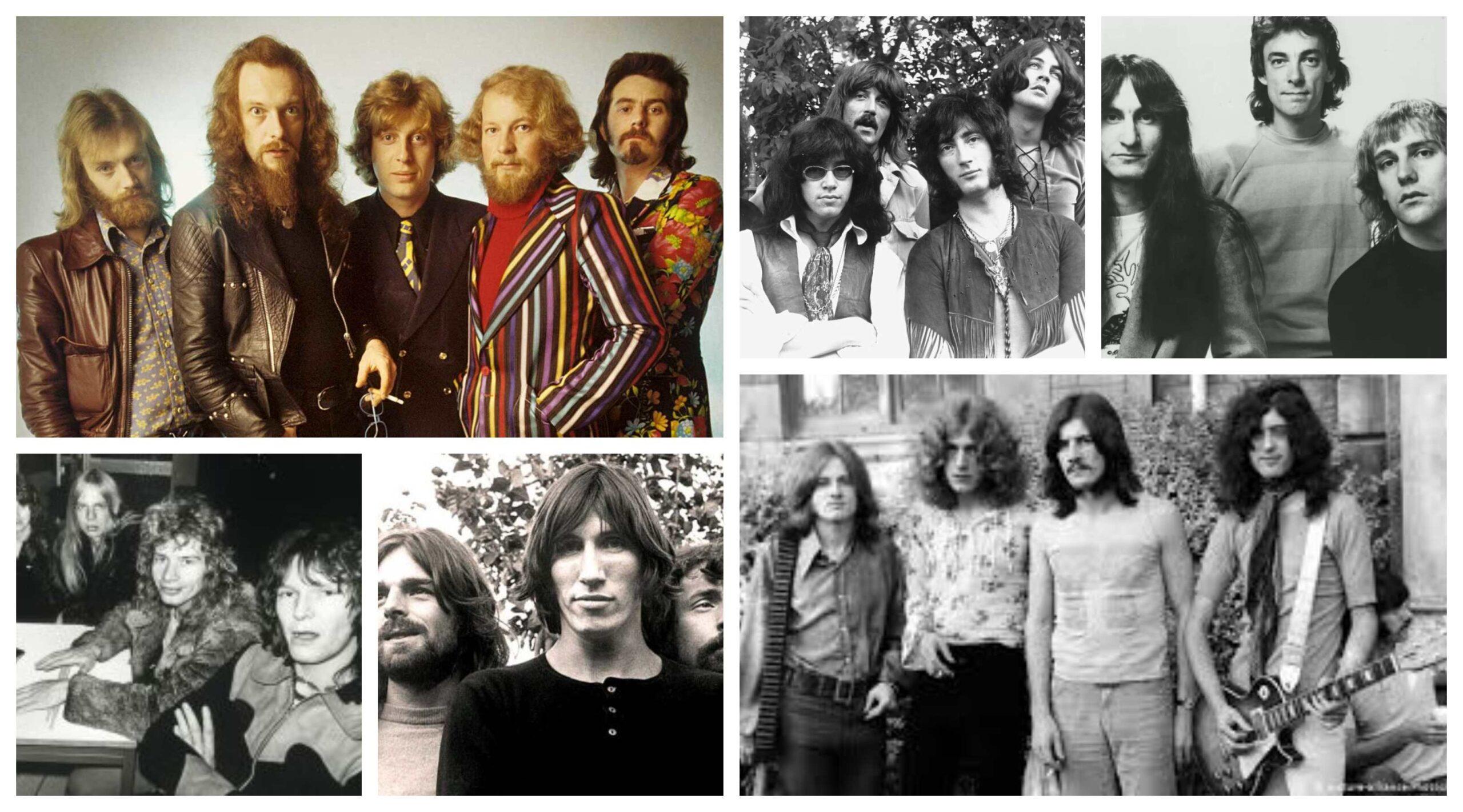bandas anos 70 tipo e estilo rock progressivo