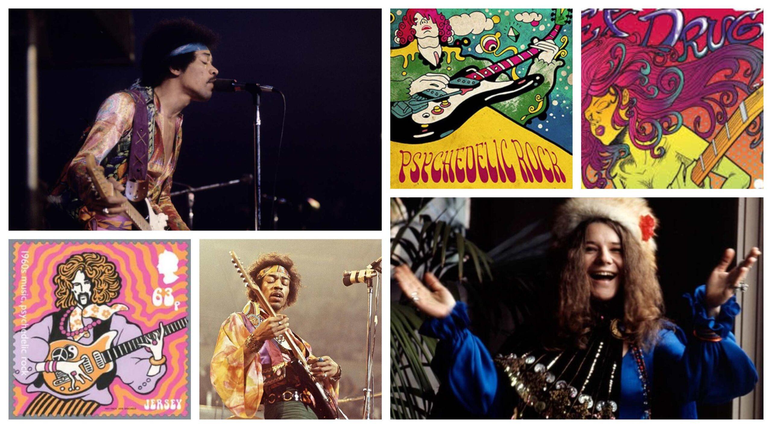 bandas de rock psicodelico anos 60