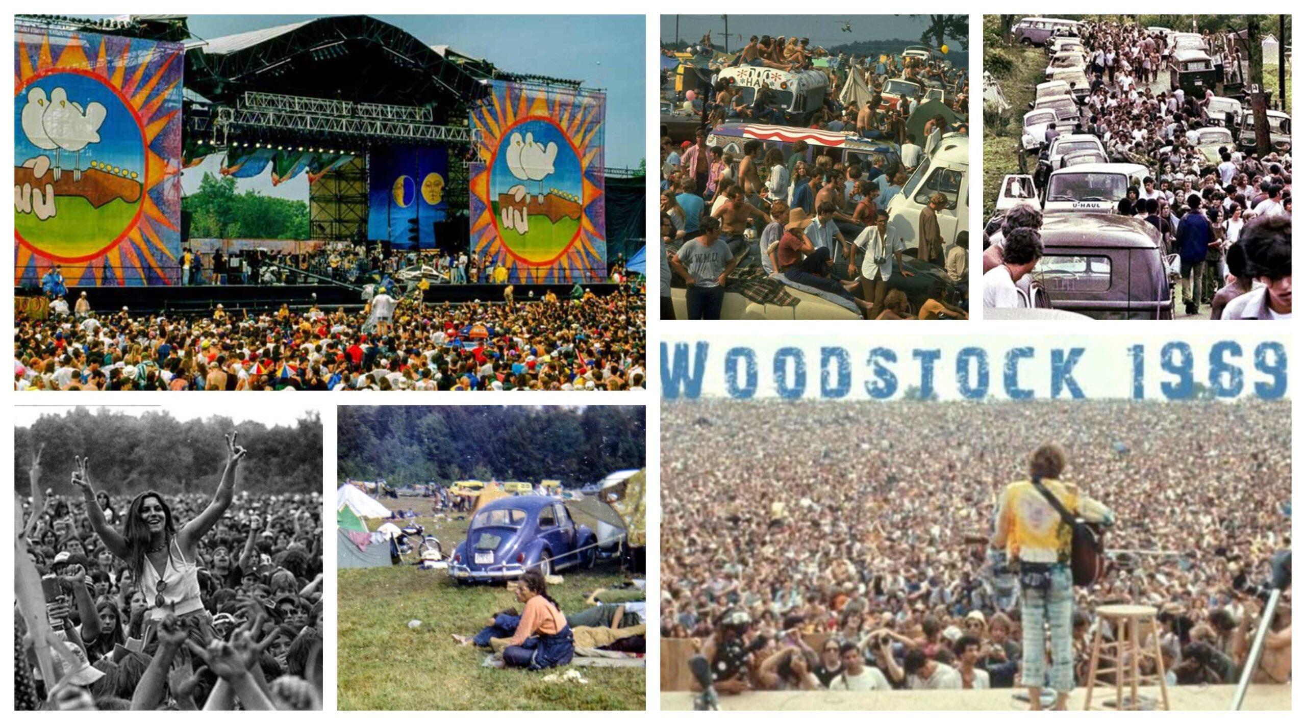 woodstock festival bandas anos 60