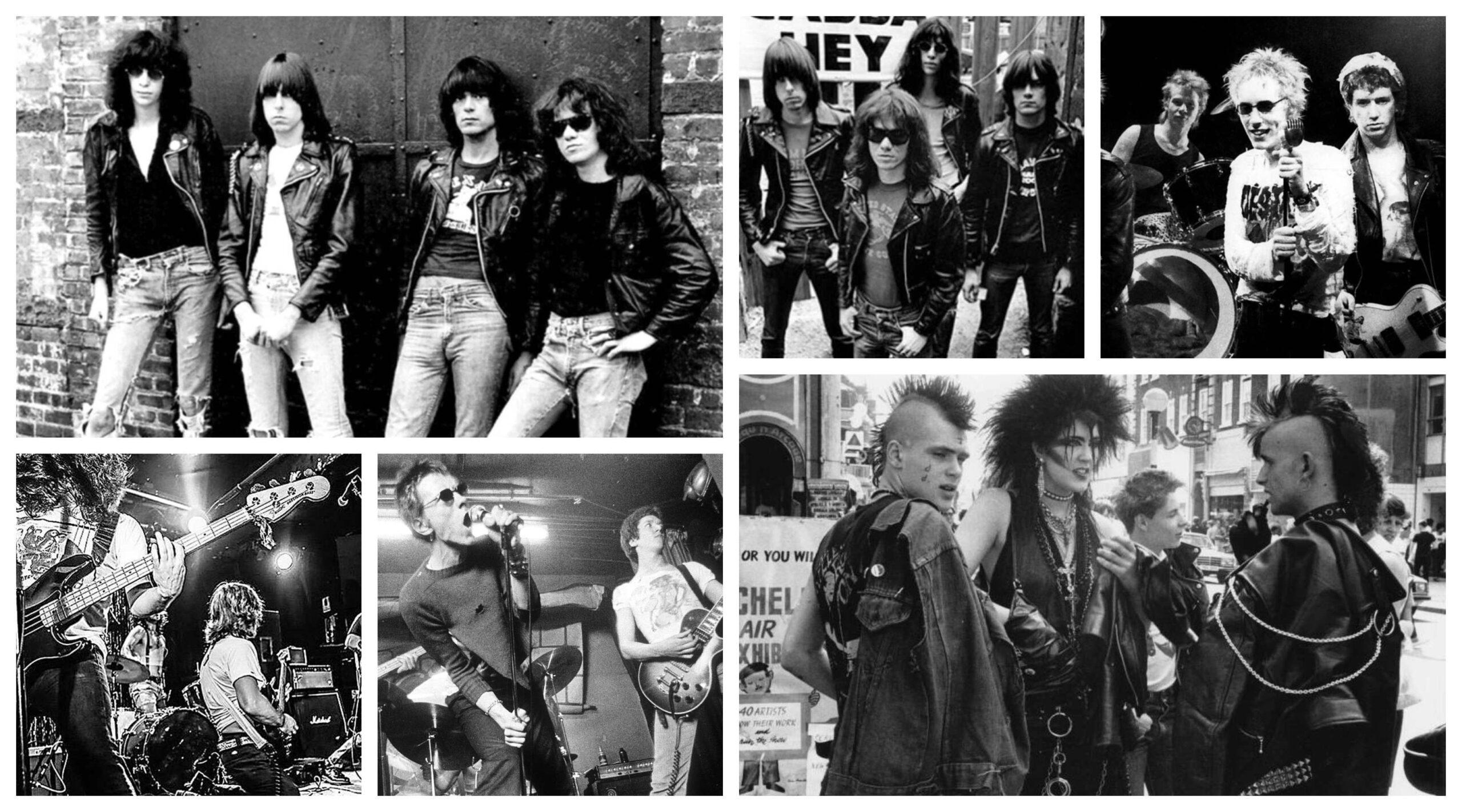 punk rock bandas dos anos 70 tipos e estilos